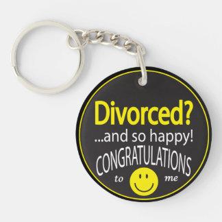 Porte-clés Heureusement divorcé