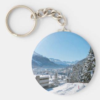 Porte-clés Hiver à St Moritz