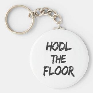 Porte-clés Hodl la copie de plancher