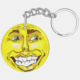 Porte-clés Homme heureux d'Emoji