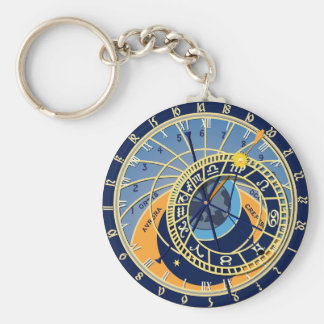 Porte-clés Horloge astrologique de Prague