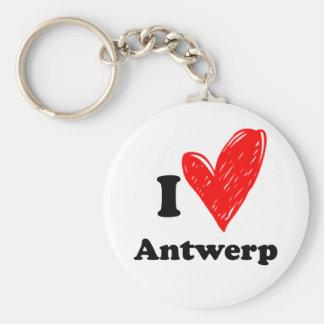 Porte-clés I love Antwerp