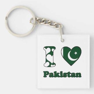 Porte-clés I love Pakistan