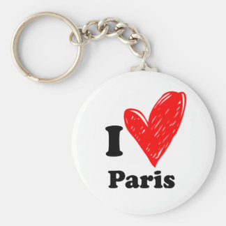 Porte-clés I love Paris