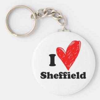Porte-clés I love Sheffield