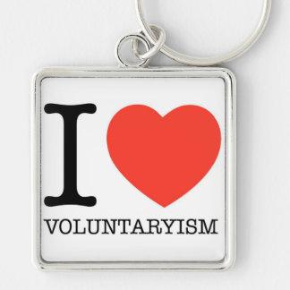 Porte-clés I porte - clé de carré de prime de Voluntaryism de