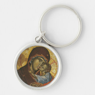 """Porte-clés Icône connue sous le nom de """"Vierge de tsar"""