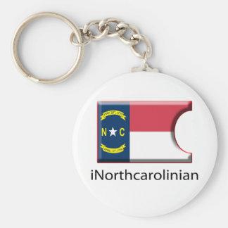 Porte-clés iFlag la Caroline du Nord