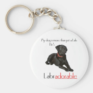 Porte-clés Il est Labradorable