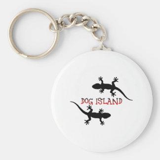 Porte-clés Île la Floride de chien
