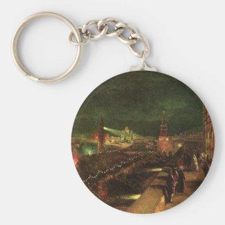 Porte-clés Illumination de Moscou à l'occasion