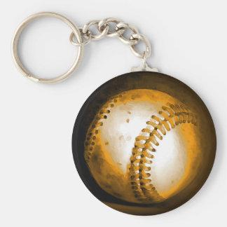 Porte-clés Illustration de base-ball