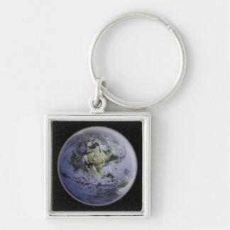 Porte-clés Image augmentée par Digital de la pleine terre