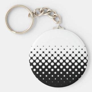 Porte-clés Image tramée