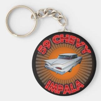 Porte-clés Impala 1959 de Chevy Keychain.