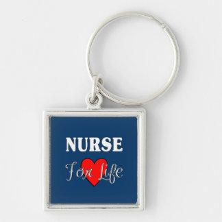 Porte-clés Infirmière pendant la vie