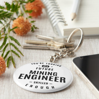 Porte-clés Ingénieur des mines