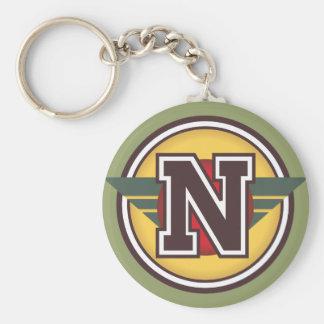 """Porte-clés Initiale de la lettre """"N"""""""