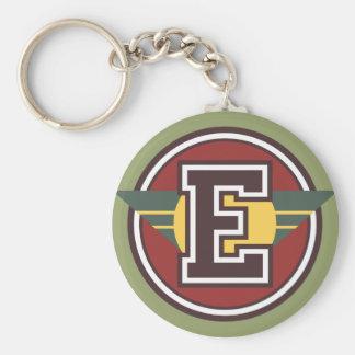 """Porte-clés Initiale faite sur commande de la lettre """"E"""" de"""