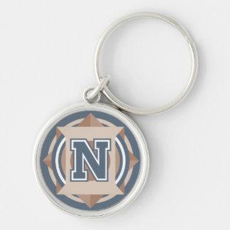 """Porte-clés Initiale faite sur commande de la lettre """"N"""" de"""