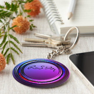 Porte-clés Initiales