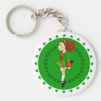 Porte-clés irlandais de danse