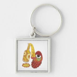 Porte-clés ivre de prime de mangue