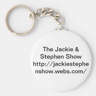 Porte-clés Jackie et porte - clé d'exposition de Stephen