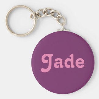 Porte-clés Jade de porte - clé