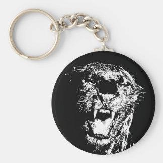 Porte-clés Jaguar - panthère noire