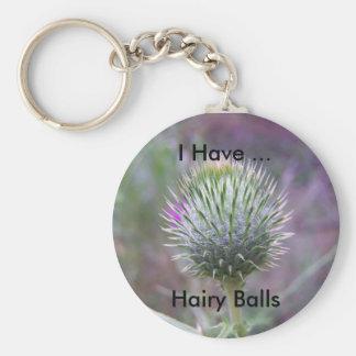 Porte-clés J'ai les boules velues