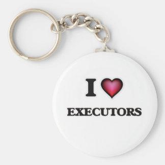 Porte-clés J'aime des EXÉCUTEURS