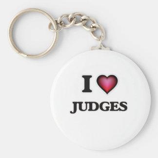 Porte-clés J'aime des juges