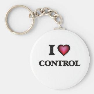 Porte-clés J'aime le contrôle