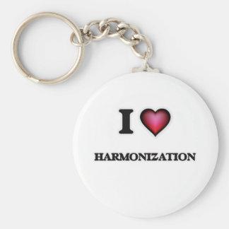 Porte-clés J'aime l'harmonisation