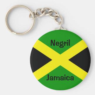 Porte-clés JamaicaFlag, Negril, Jamaïque