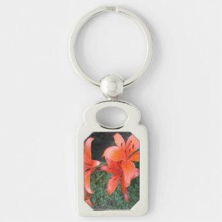 Porte-clés Jardin d'orange de lis