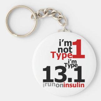 Porte-clés Je ne suis pas type 1 - je suis le type 13,1