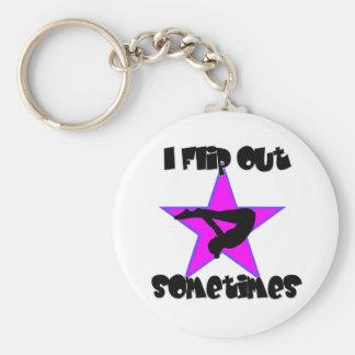 Porte-clés Je renverse la gymnastique