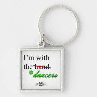 Porte-clés Je suis avec le porte - clé de prime de danseurs
