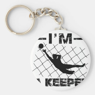 Porte-clés Je suis un gardien - conceptions de gardien de but