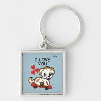 Porte-clés Je t'aime porte - clé maximum de Lil