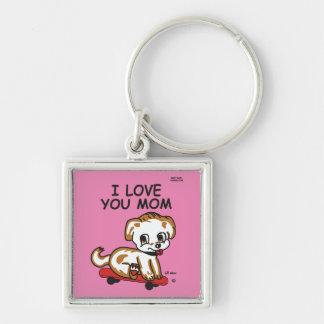 Porte-clés Je t'aime porte - clé maximum de Lil de maman