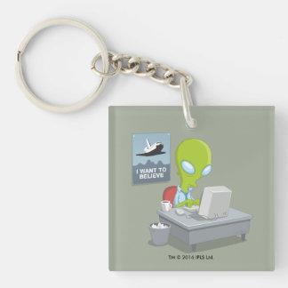 Porte-clés Je veux croire