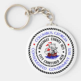 Porte-clés Joint de Columbus, la Géorgie