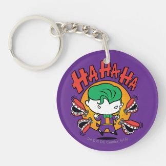 Porte-clés Joker de Chibi avec des dents de jouet