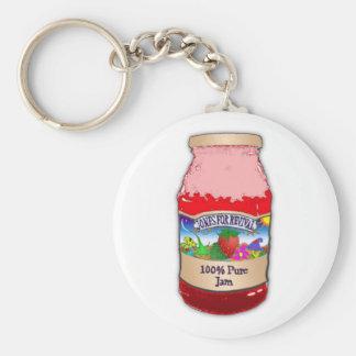 Porte-clés Jones pour le porte - clé de confiture de fraise
