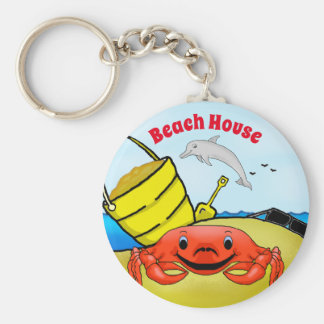Porte-clés Jour au porte - clé de plage