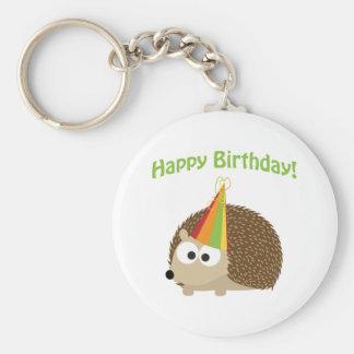 Porte-clés Joyeux anniversaire ! Hérisson