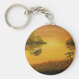 """Porte-clés La """"allée du pêcheur"""" par Jack Lepper"""